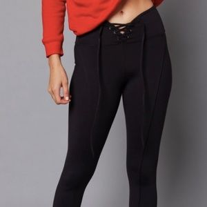 Year of Ours Pants - Year of Ours Football Legging, Black - NWT